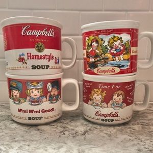 Other - Vintage Campbell's Soup Mugs